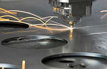 Laser Cutting Sheet Metal Fabrication in Kansas City Missouri from Ronson Manufacturing Corporation